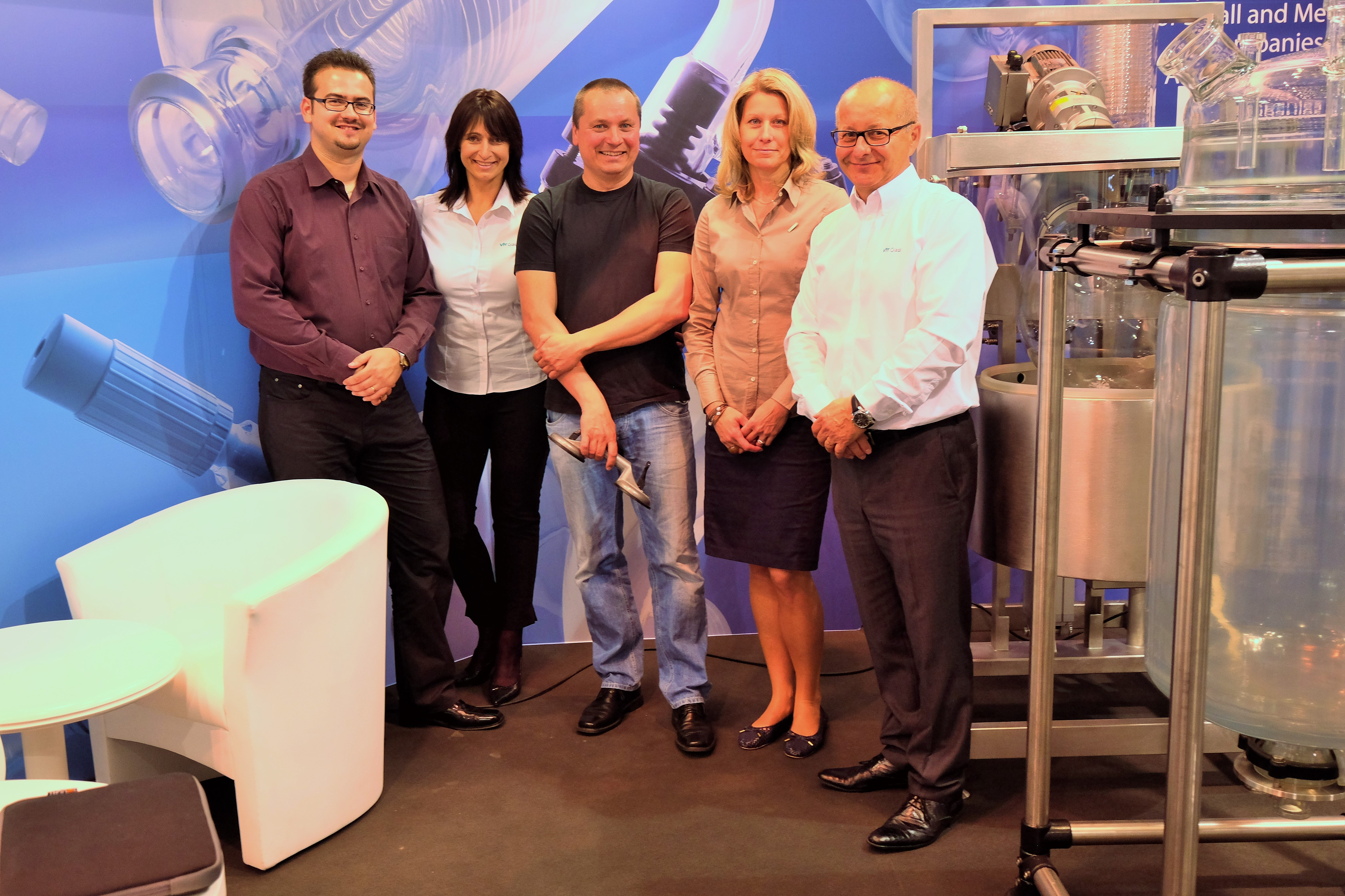 We attended the Achema Fair in Frankfurt, the biggest event in our industry – suppliers of laboratory equipment