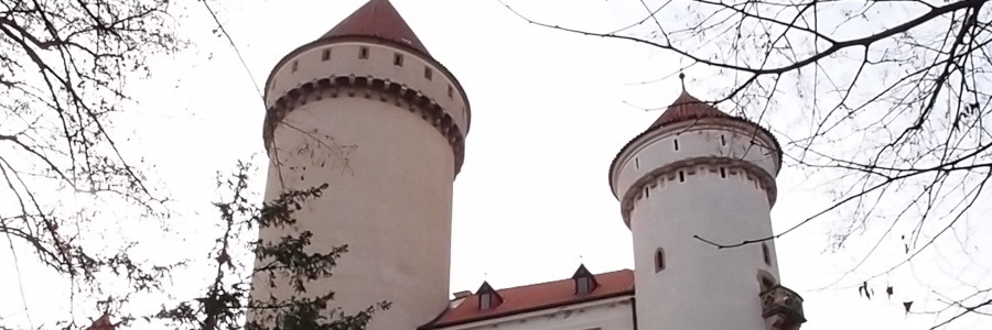 Konopiste Castle close to Benesov Town